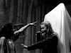 Emer (Aoife O'Beirne) and Aisling (Fiona Glasott)