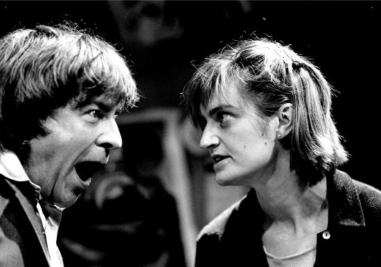 Bobby Bold (Gerald Fitzmahony) and Nuala Ryan (Helen Walsh)