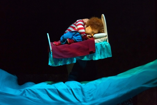 Puppet Josh in The Song from the Sea (Photo: Dylan Vaughan)